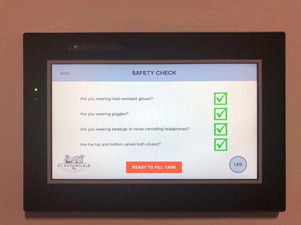 Pre-Fill Safety Checks