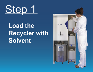 Solvent Recycling Step 1
