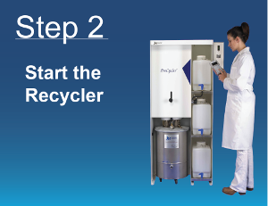 Solvent Recycling Step 2
