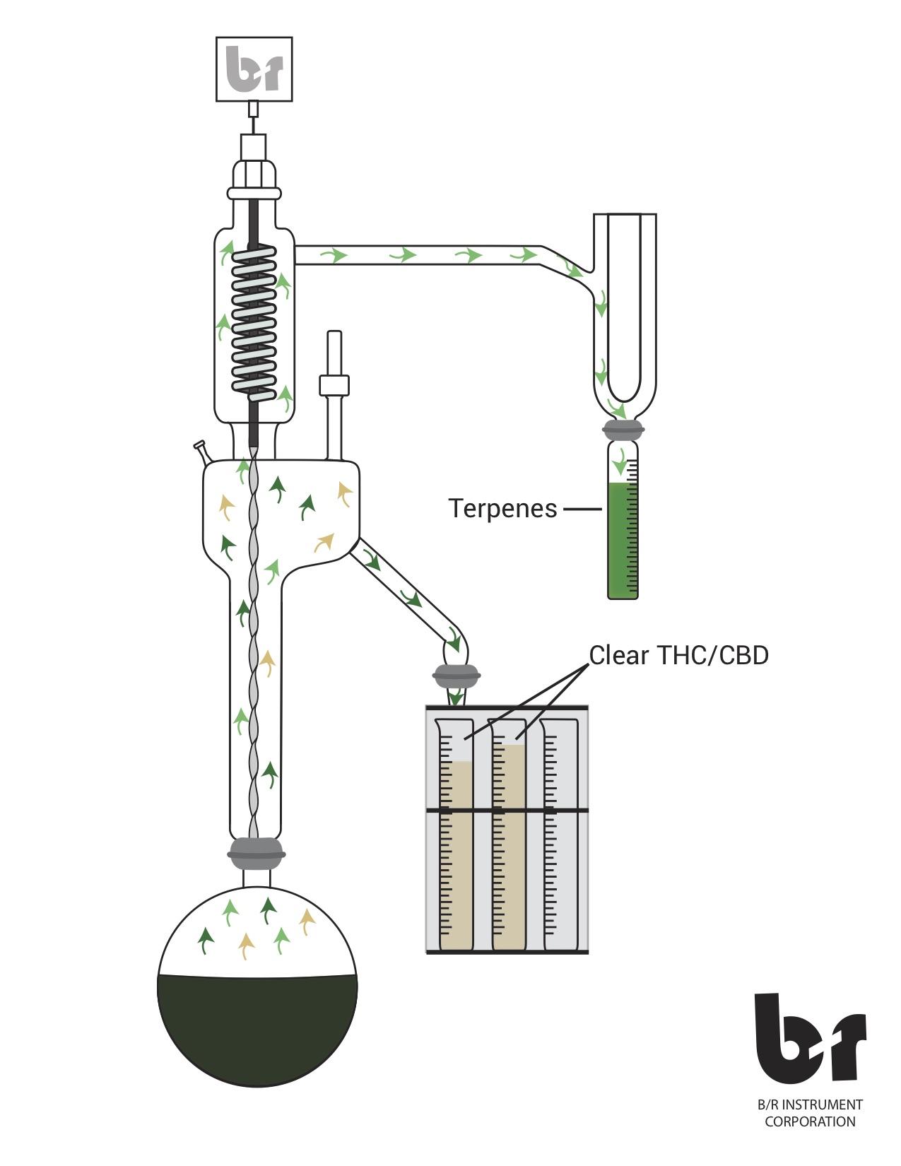 cannabis oil distillation