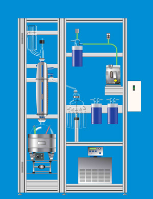 ASTM D2892 D5236 Crude Oil Distillation