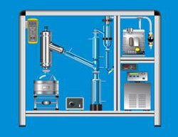 ASTM D1160 Vacuum Distillation Manually Operated B